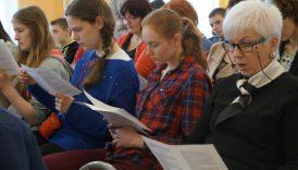 Jak największa liczba osób czytających wspólnie Sienkiewicza