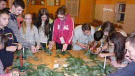 Konkurs na najładniejszy stroik bożonarodzeniowy