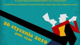 Czytaj więcej o: III Charytatywny Bal Karnawałowy już 26 stycznia 2019 roku